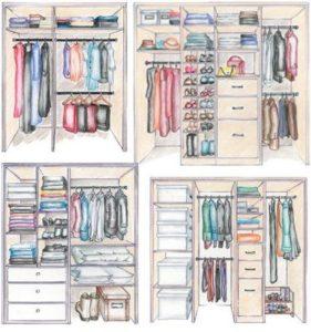 organizzazione del guardaroba