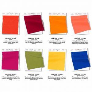 Tendenze colori Primavera-Estate 2019