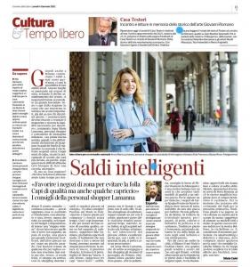 Personal Shopper Milano Corriere della Sera